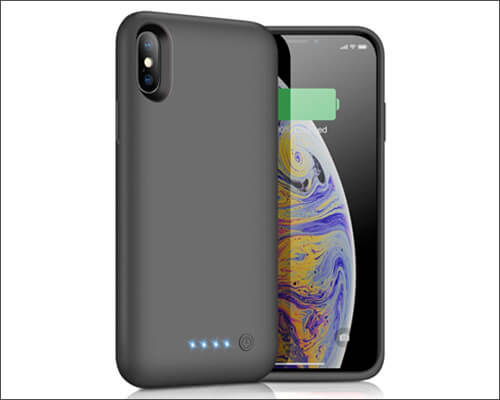 Pxwaxpy iPhone Xs Battery Case