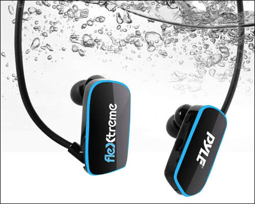 Pyle Waterproof Swim Headphones