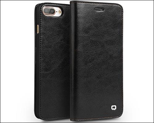 QIALINO iPhone 8 Plus Folio Wallet Case
