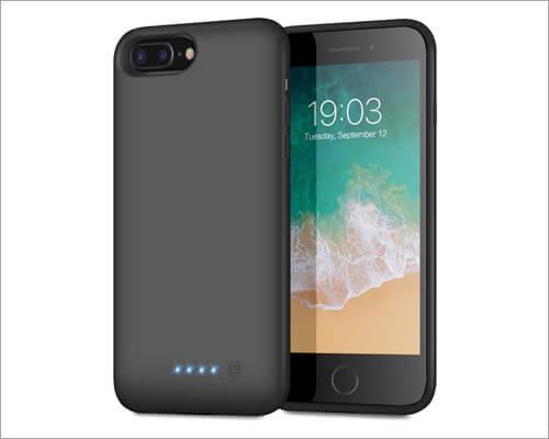 QTshine iPhone 6 Plus Battery Case