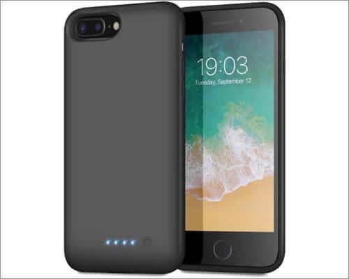 QTshine iphone 8 plus battery case