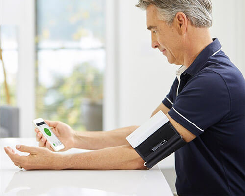 QardioArm Blood Pressure Monitor for iPhone
