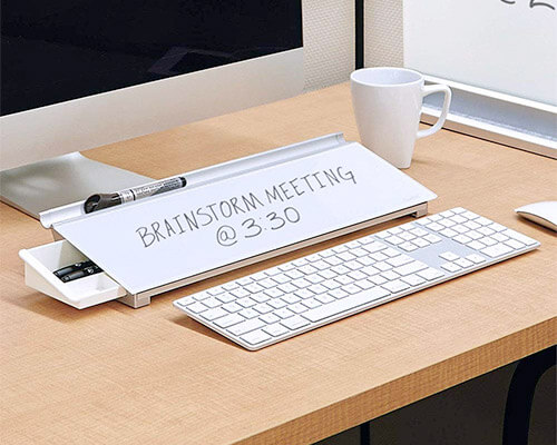 Quartet Glass Desk Pad