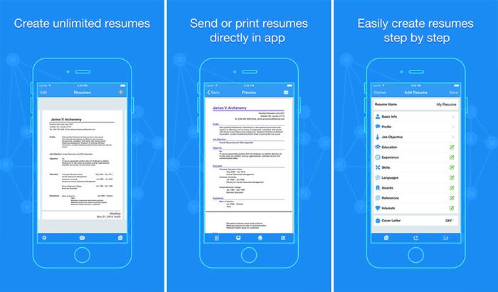 Quick Resume iPhone and iPad App