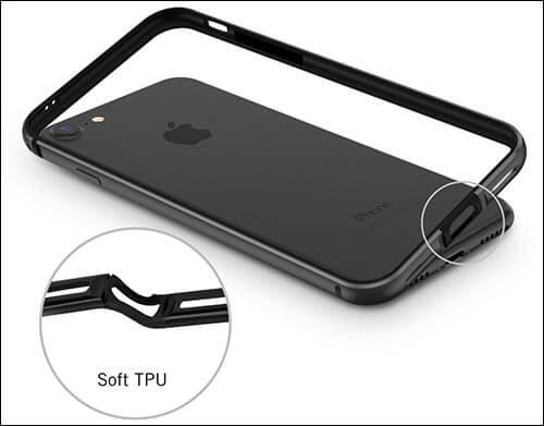 RANVOO iPhone 7 Bumper Case
