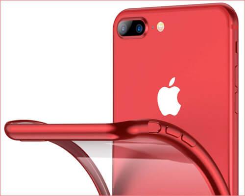 RANVOO iPhone 8 Plus Case Thin Fit