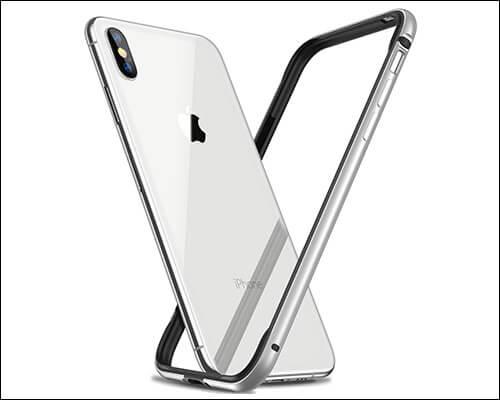RANVOO iPhone Xs Slim Thin Bumper Case