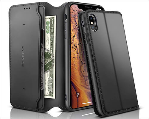 REALIKE iPhone X-Xs Flip Case