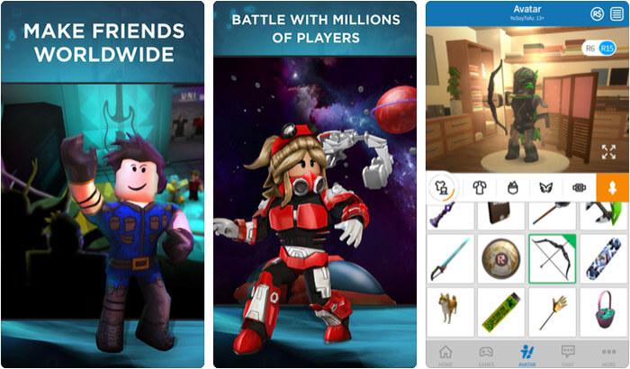 ROBLOX iPhone and iPad Game Screenshot