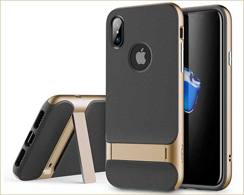 ROCK iPhone X Kickstand Case
