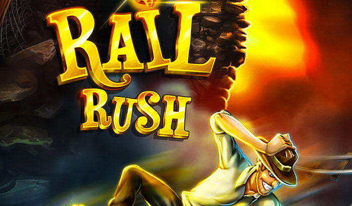 Rail Rush Kill Stress iPhone and iPad Game Screenshot
