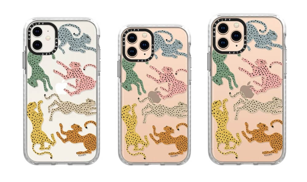 Rainbow Cheetah Pattern iPhone 11 Pro Max Case from Casetify
