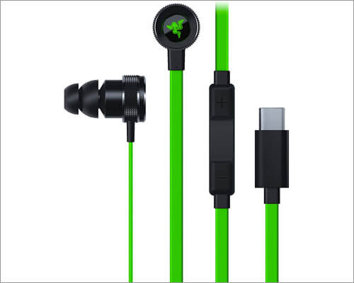 Razer Hammerhead USB-C Earbuds Compatible with MacBook, iPad Pro and Android