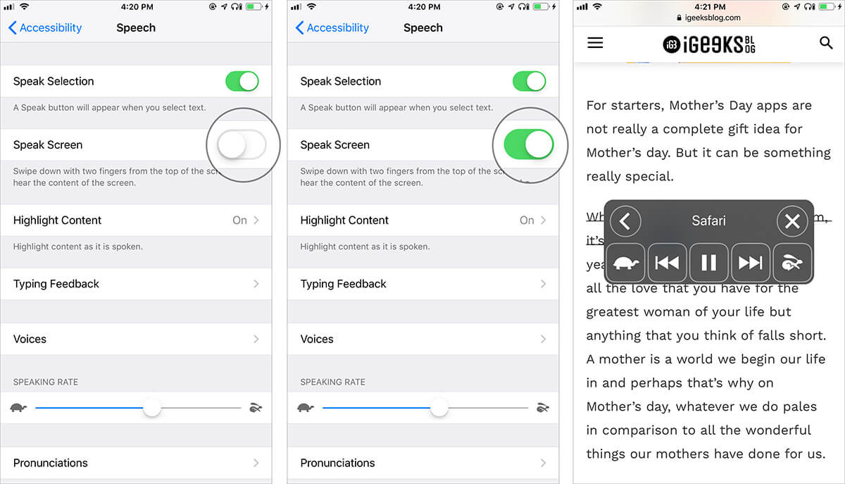 Read Emails, Articles, and Webpages Using Siri on iPhone or iPad