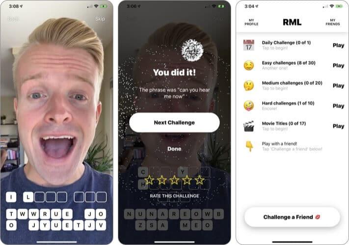 Read My Lips iPhone and iPad App Screenshot