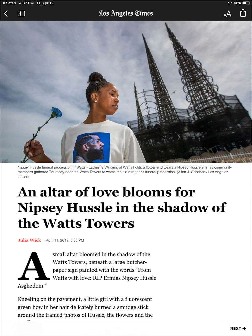 Read Paywalled Article From WSJ or LA Times Using Apple News Plus