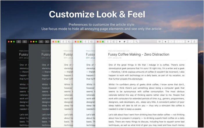 ReadKit best RSS feed reader app for Mac