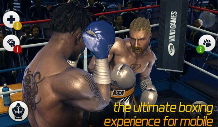 Real Boxing Sports iPhone and iPad Game Screenshot