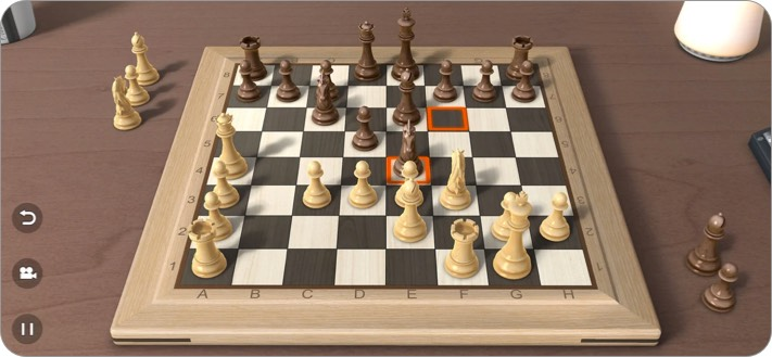 Real Chess 3D two player iPhone game
