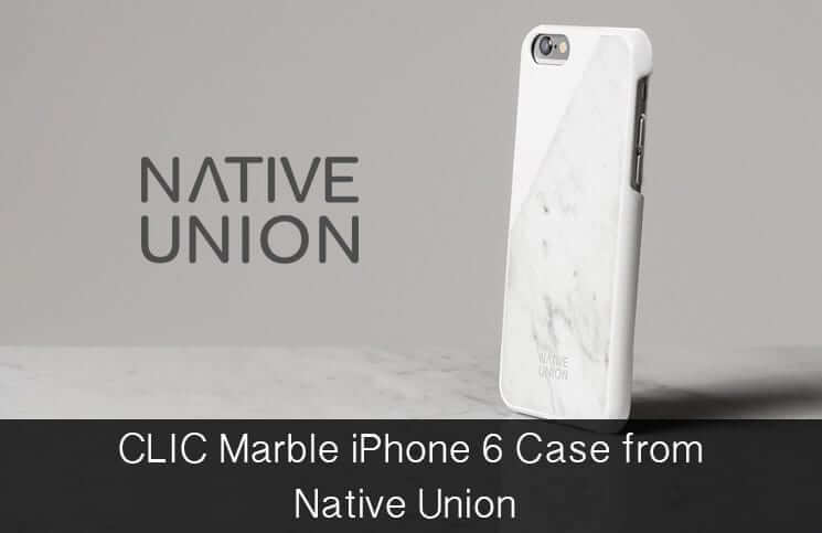 Real Marble iPhone 6 Case from Native Union