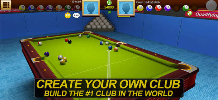 Real Pool 3D Game App for iPhone and iPad Screenshot