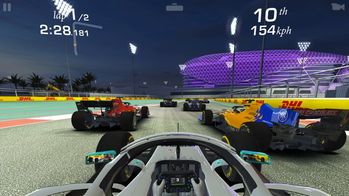 Real Racing 3 Apple TV App Screenshot