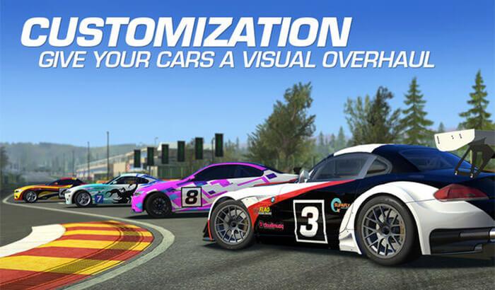 Real Racing 3 iPad Pro Game Screenshot