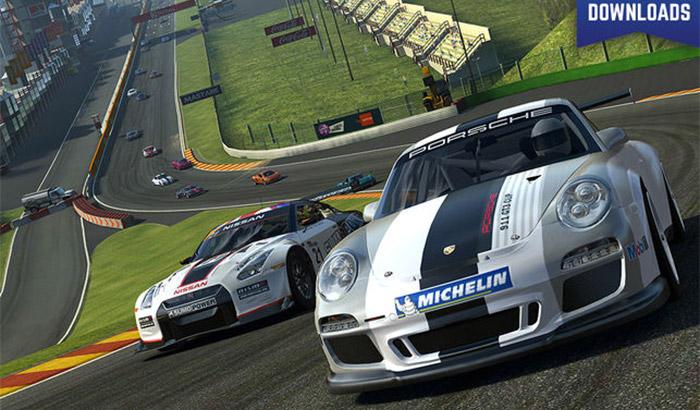 Real Racing 3 iPad and iPhone Game Screenshot