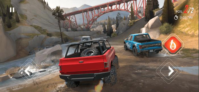 Rebel Racing iPhone and iPad Game Screenshot