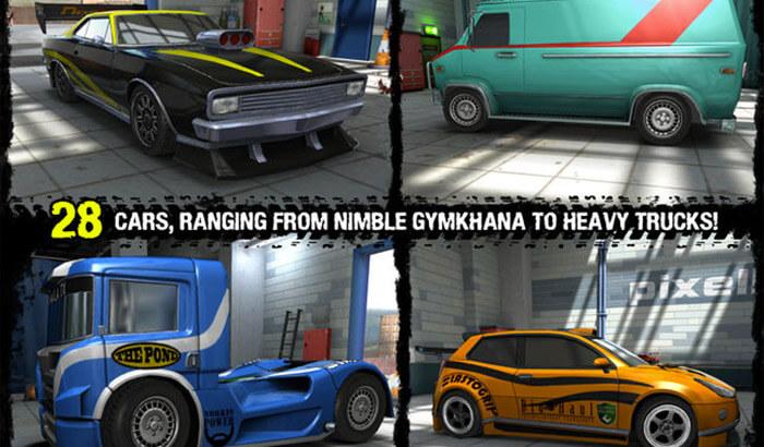 Reckless Racing 3 iPad and iPhone Game Screenshot