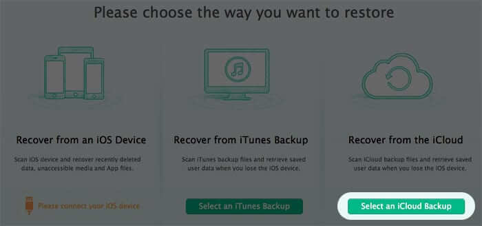 Recover Deleted iPhone Text Messages from iCloud