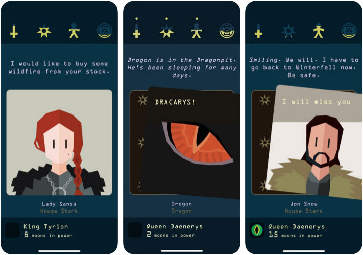 Reigns Paid iPhone Game Screenshot