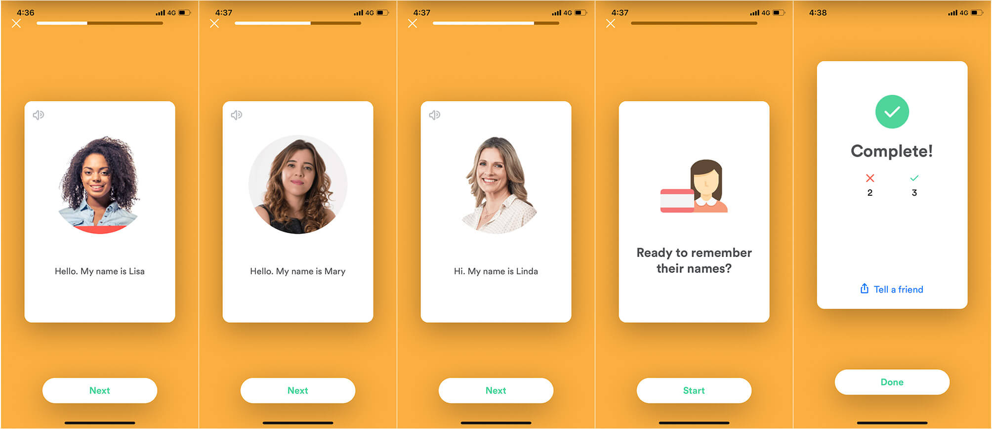 Remember Names with Name Skillz iPhone App