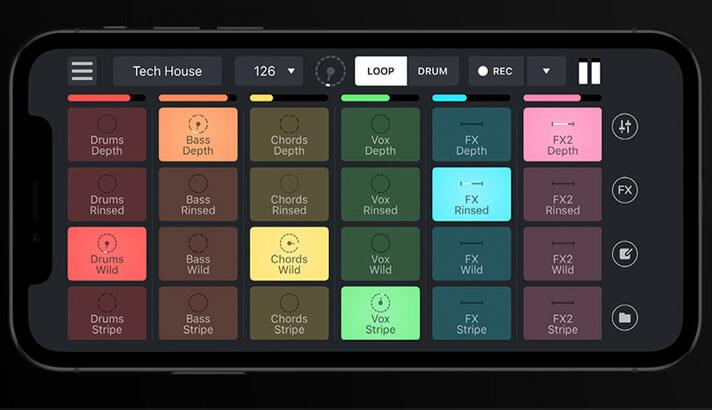 Remixlive iOS Hip Hop App Screenshot