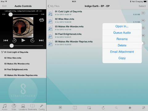 Remote File Access App for iPad