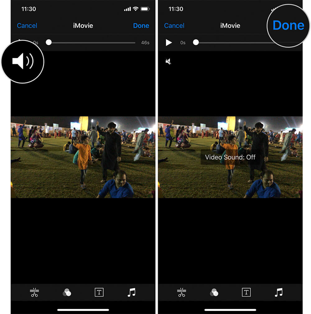 Remove Music from Videos on iPhone or iPad