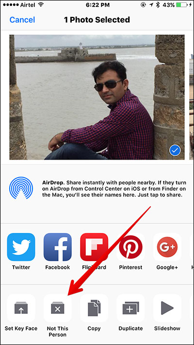 Remove Person from People Album in iOS 10