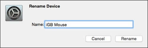 Renaming Devices on Mac OS X