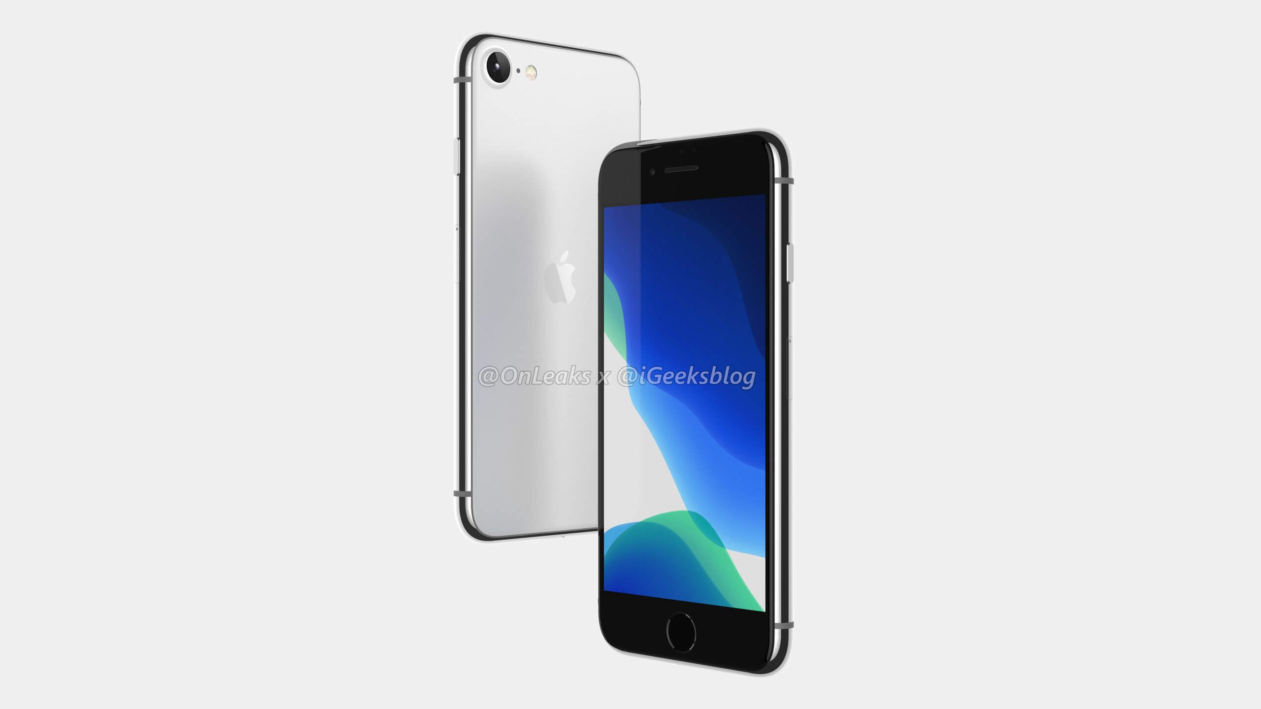 Render of 4.7-inch iPhone 2020