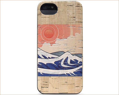 Reveal iPhone SE Wooden Case