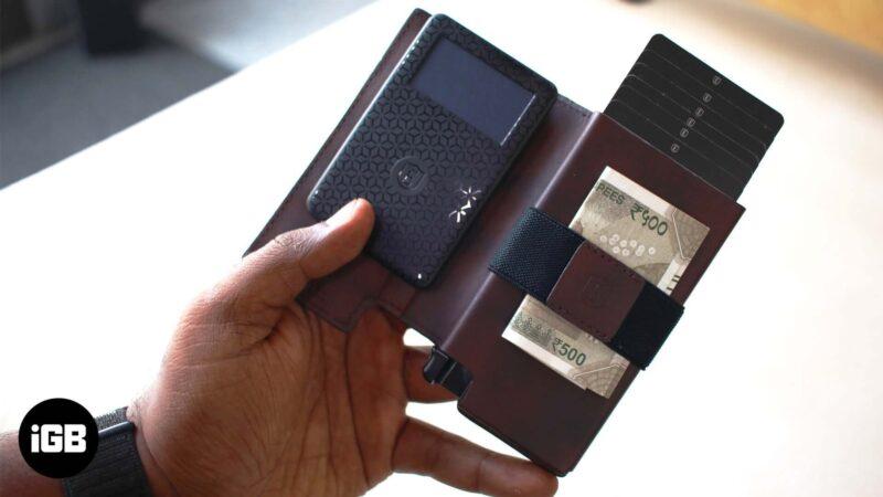 Review of Ekster Modular Secretary and Parliament Smart Wallet