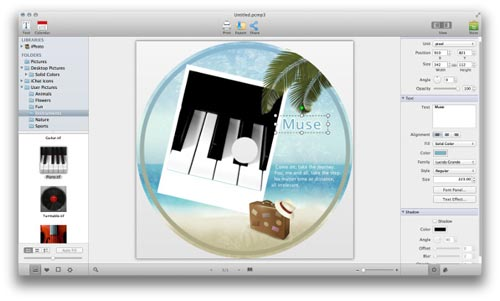Review of Picture Collage Maker 3 Mac App