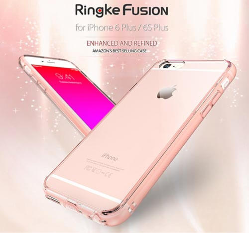 Ringke Fusion Clear Case for iPhone 6s Plus