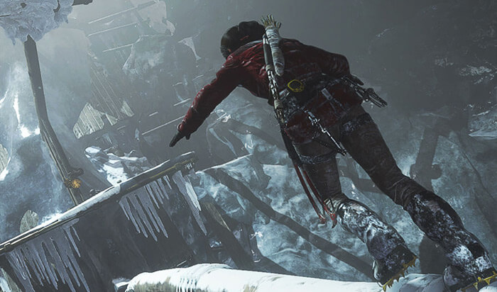 Rise of the Tomb Raider Mac Game Screenshot