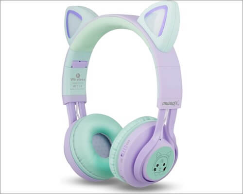 Riwbox Wireless Headphones for Kids
