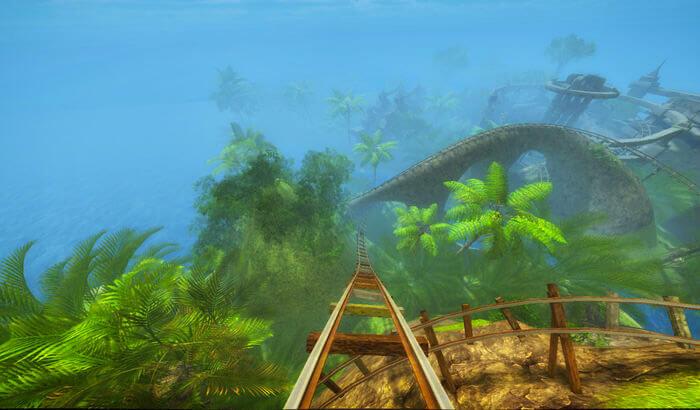 Roller Coaster VRGame Screenshot
