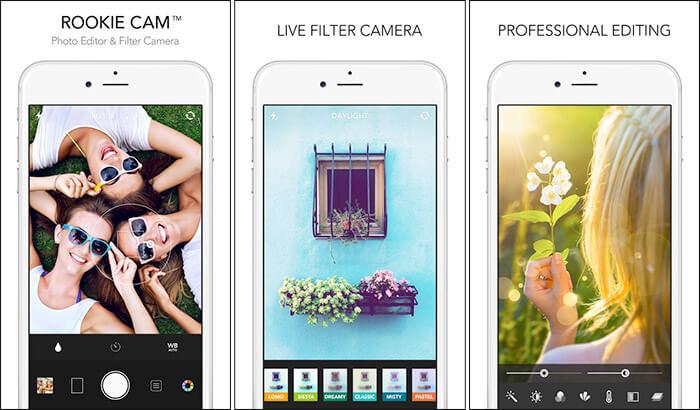 Rookie Cam iPhone and iPad App Screenshot