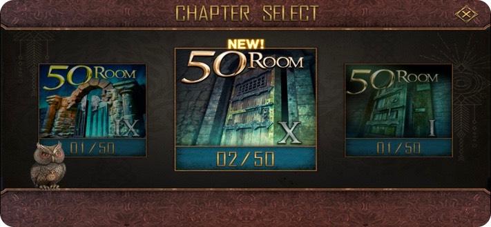 Room Escape 50 rooms iPhone Game Screenshot