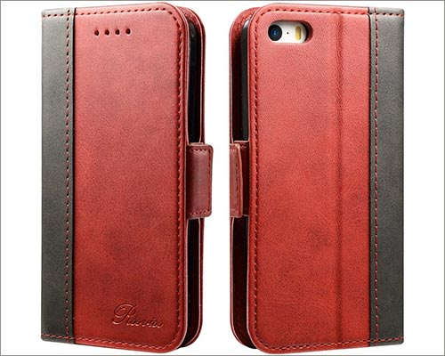 Rssviss iPhone SE and iPhone 5s Leather Case