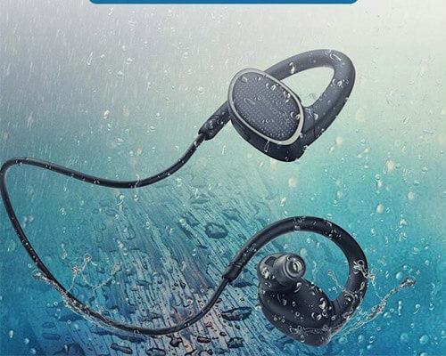 Runattitude Waterproof Bluetooth Headphones for Swimming
